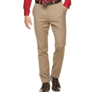 Apt. 9 Dress Pants Men's Tan 36 x 34 New